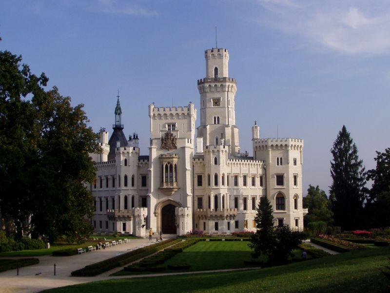 Замок Глубока-над-Влтавой. Фото: honeymoment.com