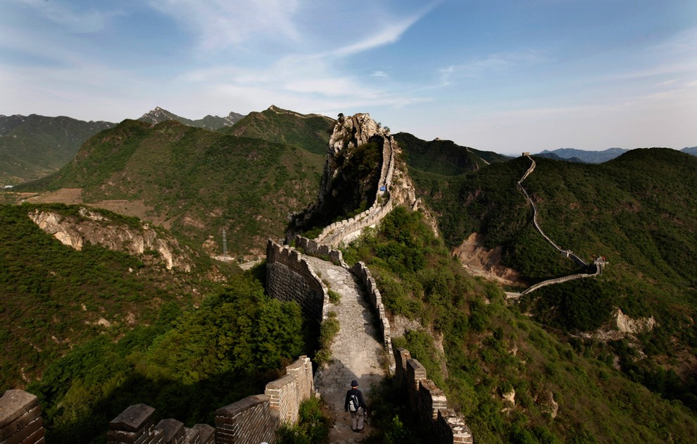 Великая китайская стена. Фото с сайта  supercoolpics.com