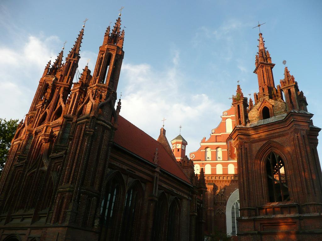 Вильнюс. Автор: Olga Фото:  www.flickr.com