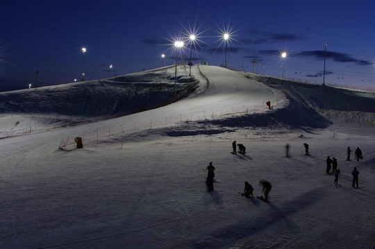 Вечернее катание. Фото: www.sorochany.ru