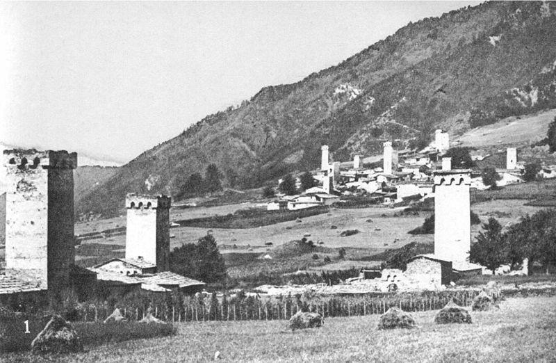 село Местиа в 1890г. Фото: ru.wikipedia.org