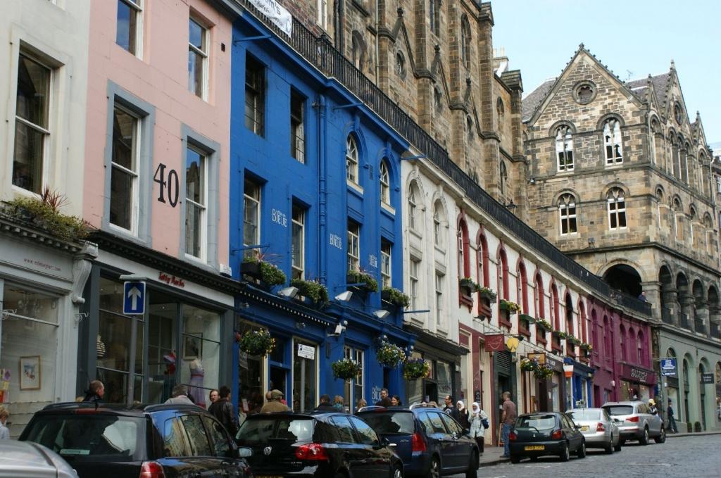 Виктория-стрит, Эдинбург. Автор: Stéphane Goldstein. Фото:  www.flickr.com