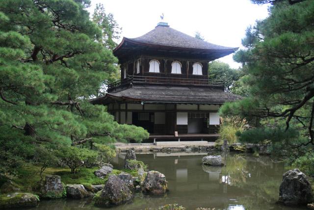 Серебряный храм в Киото. Фото: photovision.ru