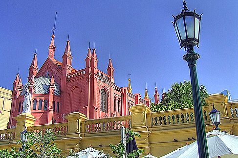 В районе Ла Реколета. Буэно-Айрес. Фото: clickbed.com