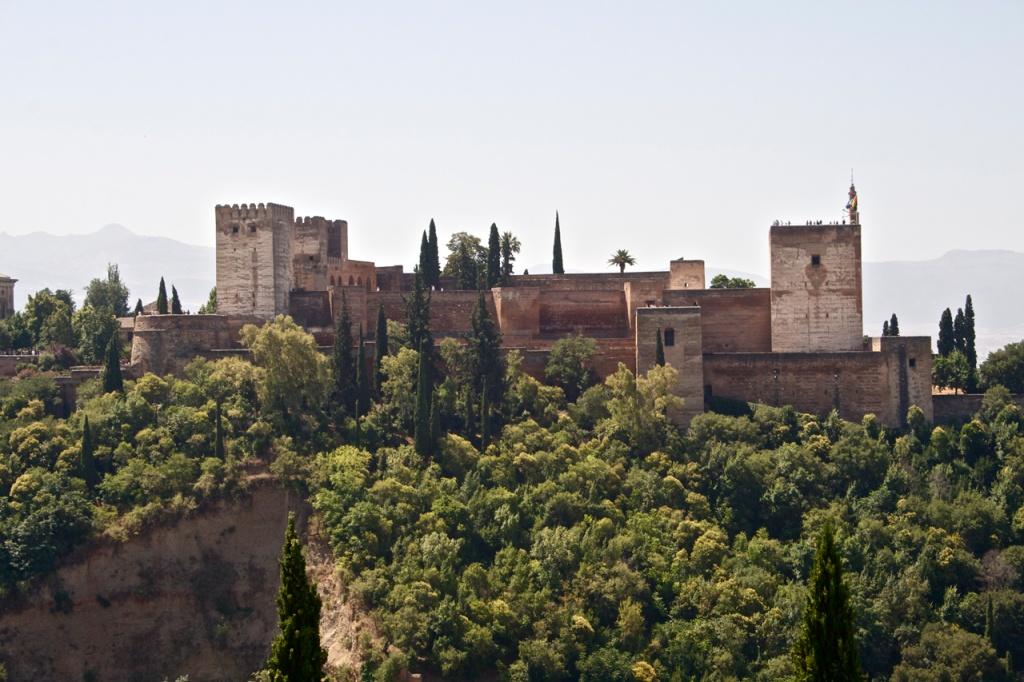 Дворец Альгамбра в Севилье. Фото:   Un Tipo Digital