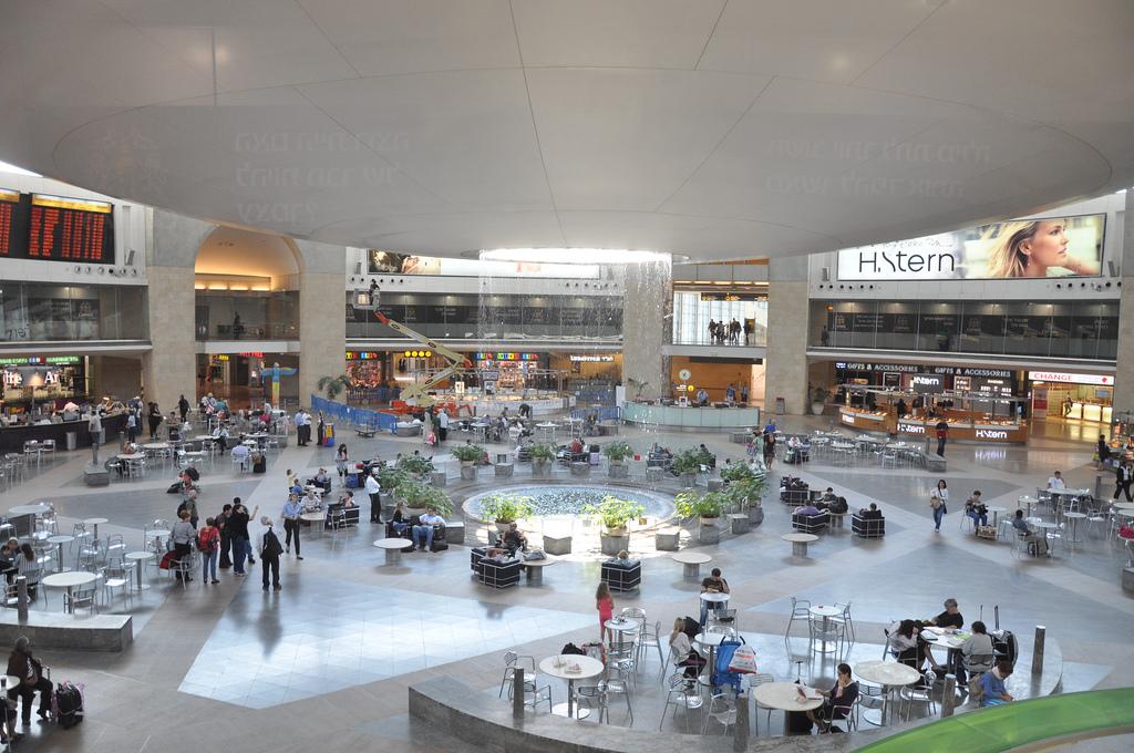 Аэропорт Тель Авива. Автор: Jorge Láscar. Фото:  www.flickr.com