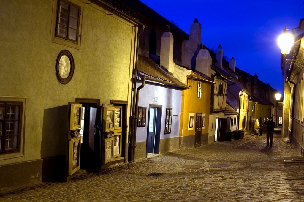 Злата уличка в Праге. Фото: turinfo.ru