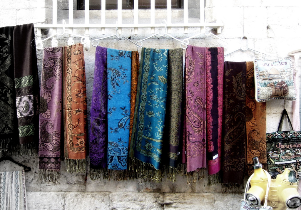 Платки в Старом Городе. Автор: David Masters. Фото:  www.flickr.com