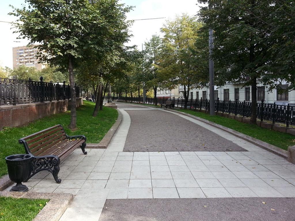 Яузский бульвар. Автор: SergeyStepykin. Фото:  www.en.wikipedia.org