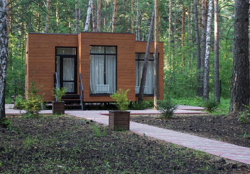 Дома-студии в лесу