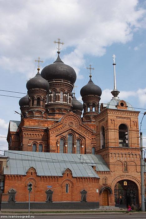 Введенский монастырь. Фото:  www.ivanovograd.ru
