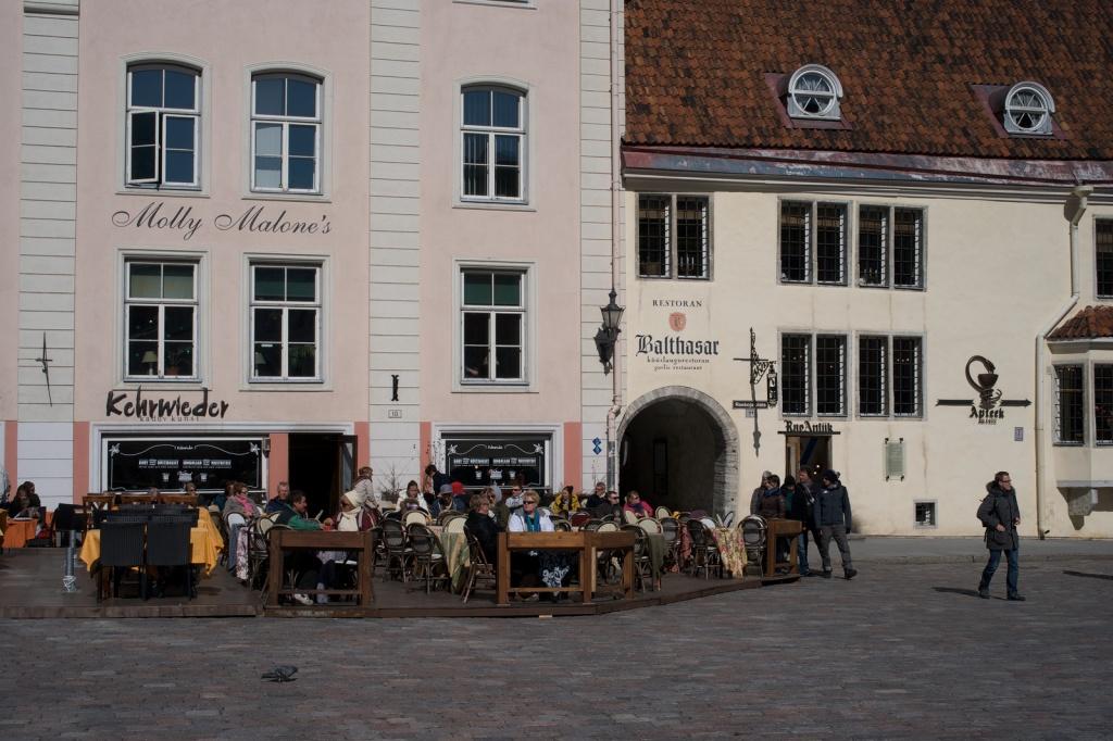 Ратушная площадь. Автор: hanspoldoja. Фото:  www.flickr.com