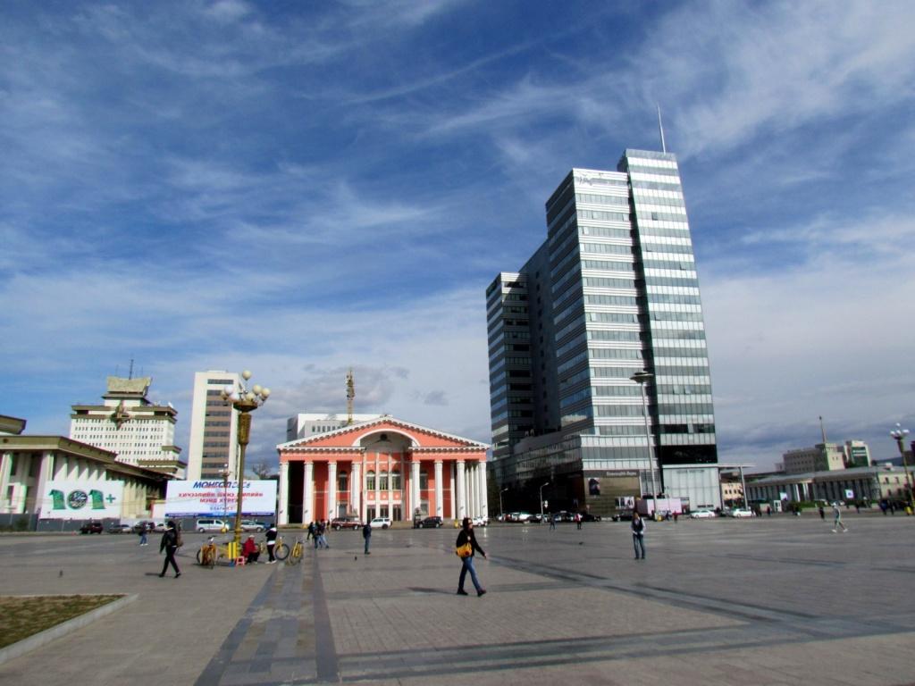 Площадь Сухэ-Батор, г. Улан-Батор. Автор: David Berkowitz. Фото:  www.flickr.com