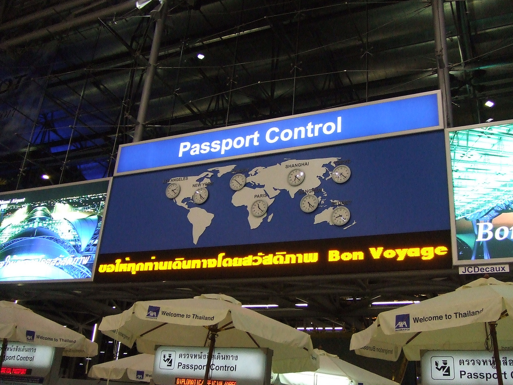 Паспортный контроль. Автор: shankar s. Фото:  www.flickr.com