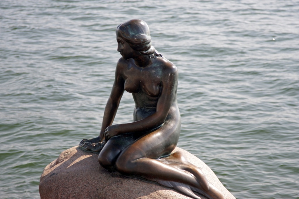 Памятник Русалочке. Фото:    Bruce Tuten