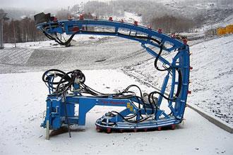 Pipe Magican, установка для подготовки хафпайпа. Фото: www.ski-bannoe.ru