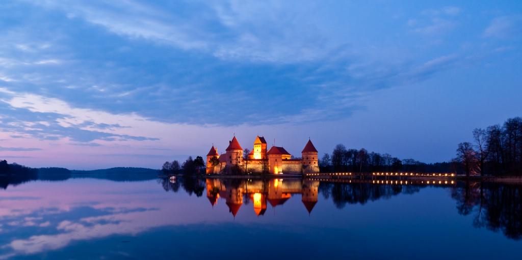 Тракайский замок. Автор: Vaidotas Mišeikis Фото:  www.flickr.com