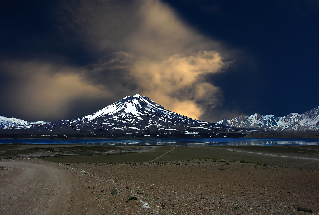 Вулкан Майпо. Фото:  fainmen
