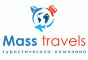 Лого Mass travels, туристическая компания