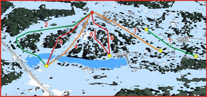 Схема трасс. Источник: kluchi.neokom.ru