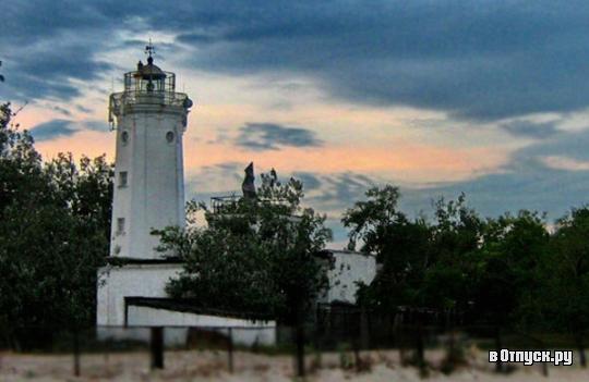 Белосарайский маяк. Фото с сайта  www.votpusk.ru