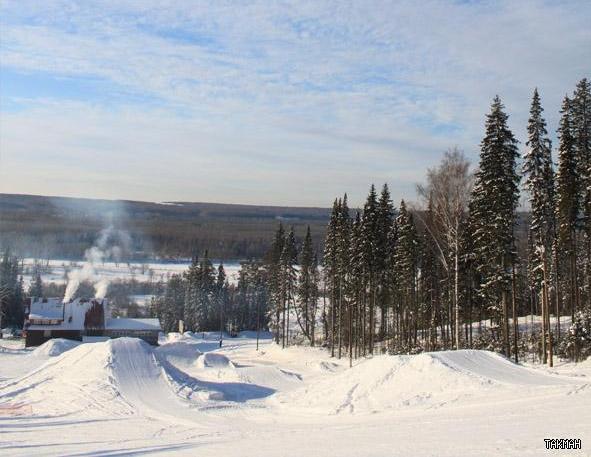 Сноупарк. Фото: takman-ski.ru