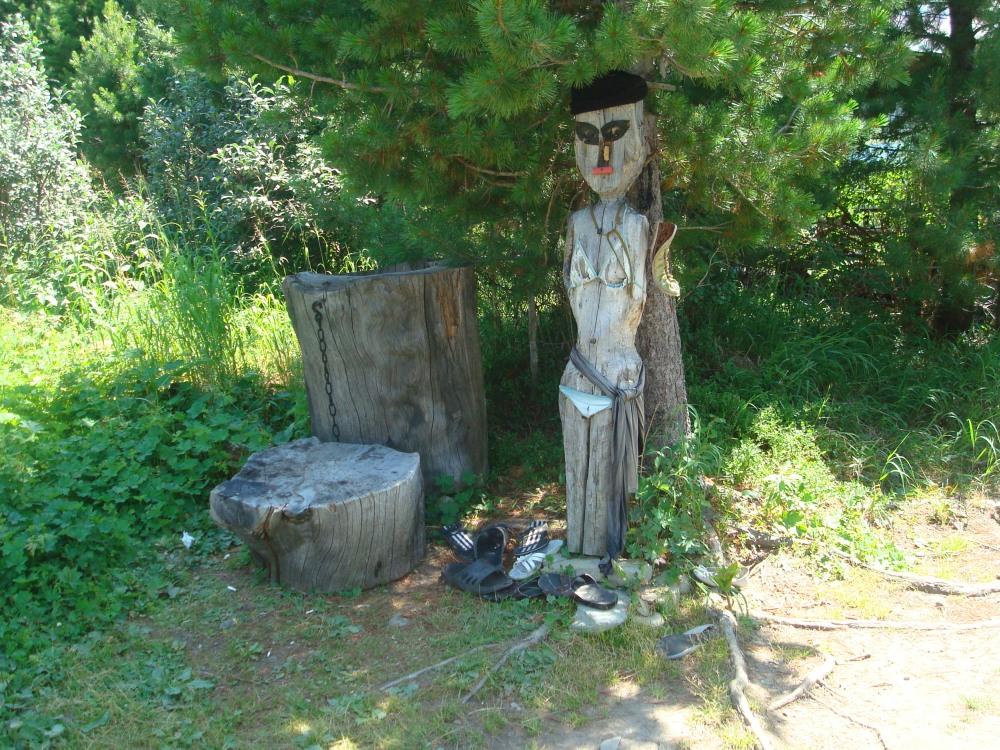 Памятник туристу. Фото: Яковлева Анна