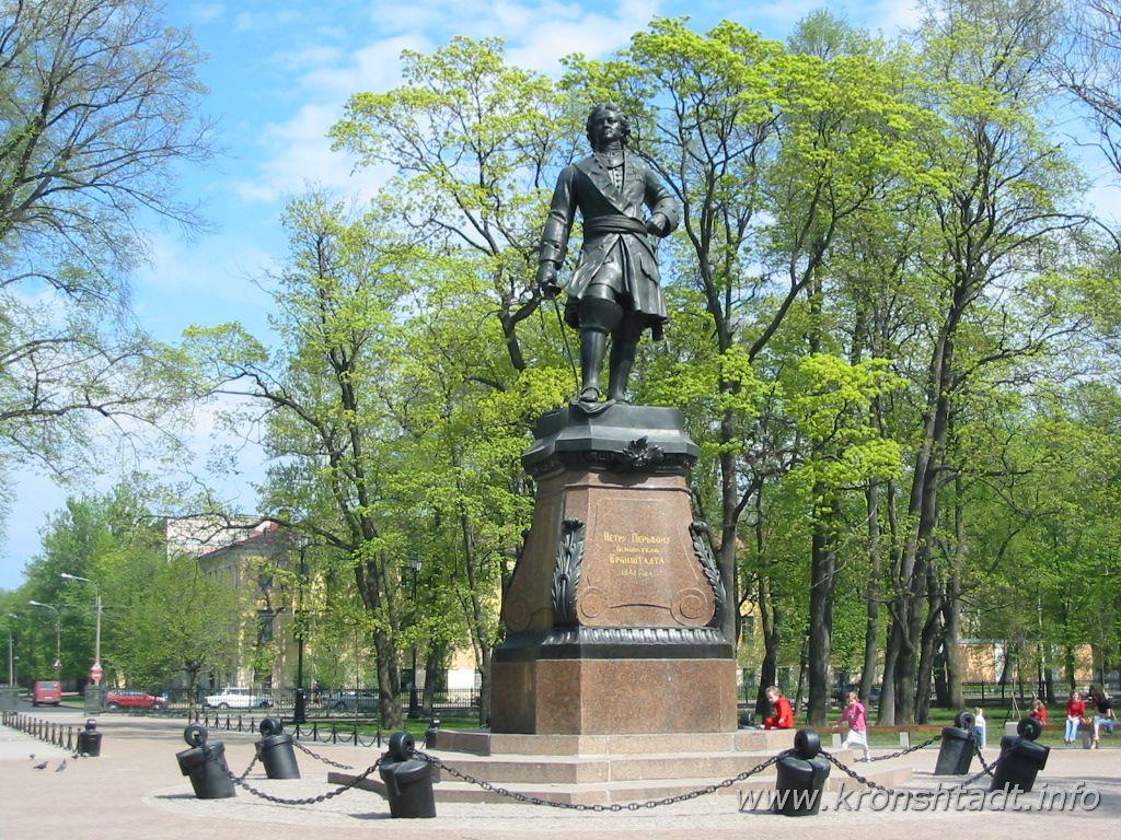 Памятник Петру I. Фото:  www.kronshtadt.info