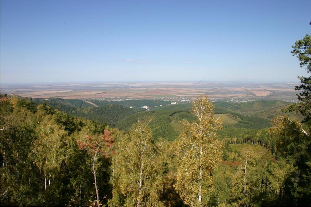 Вид с горы Круглая