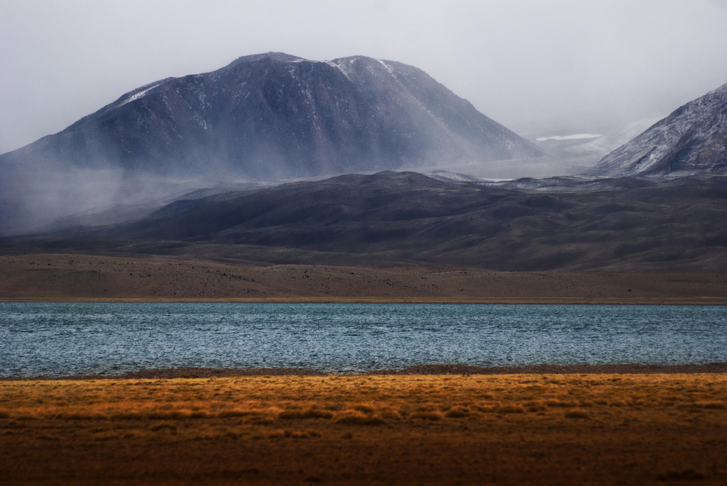Озеро Лагуна-дель-Диаманте. Фото:  pablo:espinosa