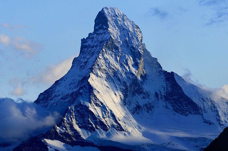 Г. Маттерхорн, Альпы (en.wikipedia.org/wiki/Alps)