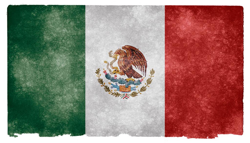 Флаг Мексики. Автор: Free Grunge Textures - www.freestock.ca. Фото:  www.flickr.com
