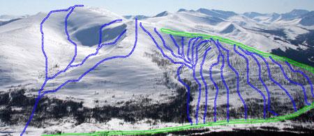 Схема катания на Ленинградке. Фото: www.mnogosnega.ru