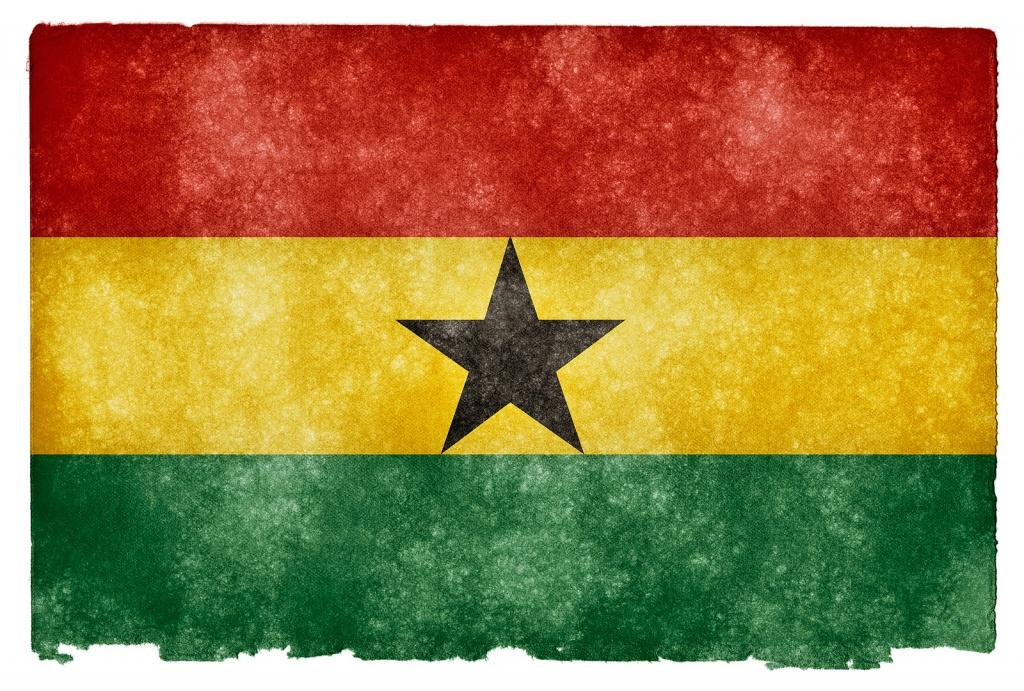 Флаг Ганы. Автор: Free Grunge Textures - www.freestock.ca. Фото:  www.flickr.com