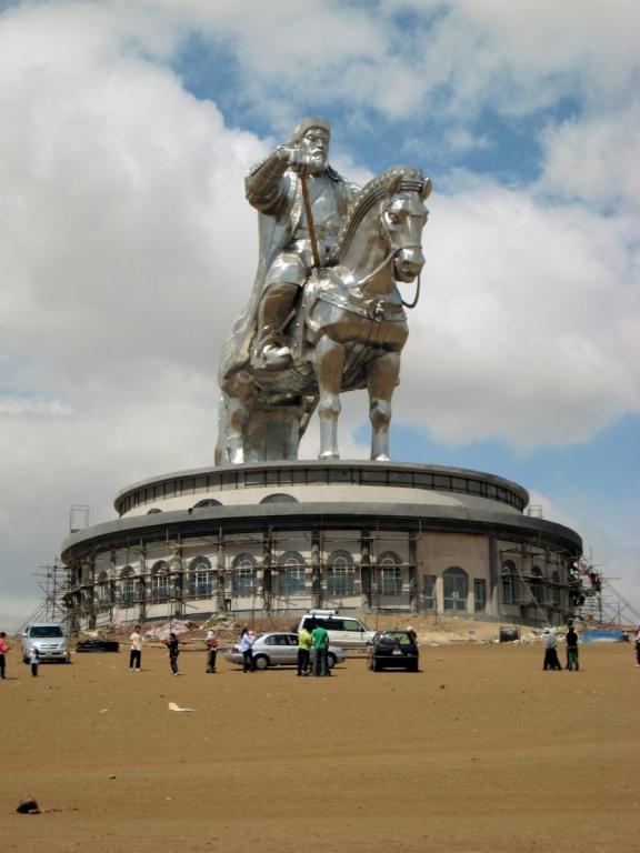 Памятник Чингисхану. Автор: Francisco Anzola. Фото:  www.flickr.com