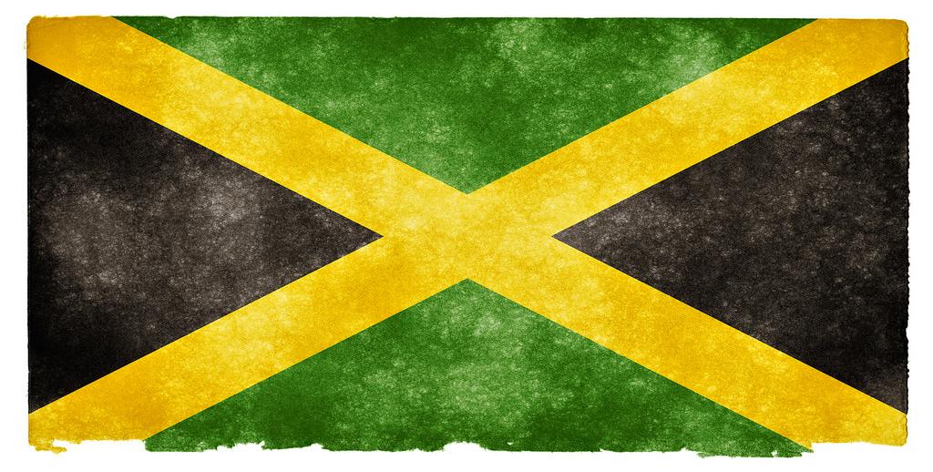 Флаг Ямайки. Автор: Free Grunge Textures - www.freestock.ca. Фото:  www.flickr.com