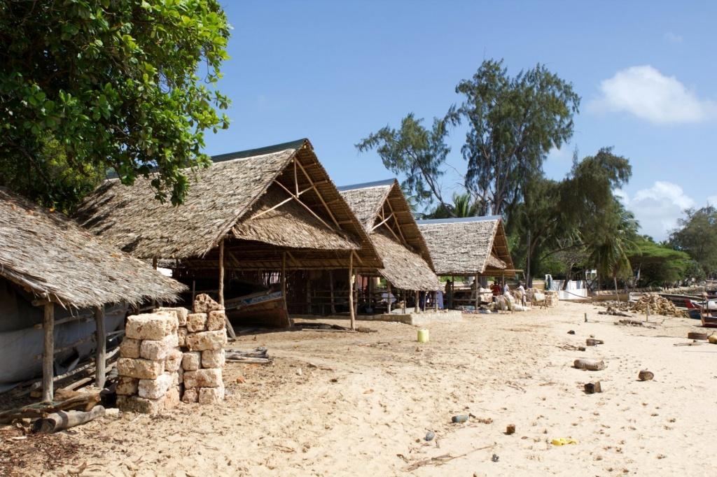 Поселение в Кении. Автор: smagdali. Фото:  www.flickr.com