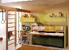 Детская комната со спортивным уголком.