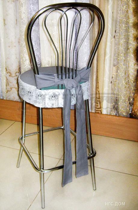 Чехлы на барные стулья своими руками фото выкройки 46