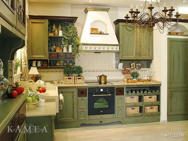 """Кухня в стиле  """"прованс """" это - настоящее воплощение духа Франции у вас..."""