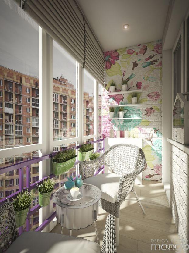 Проект: балкон, project 155, автор design studio mango дизай.