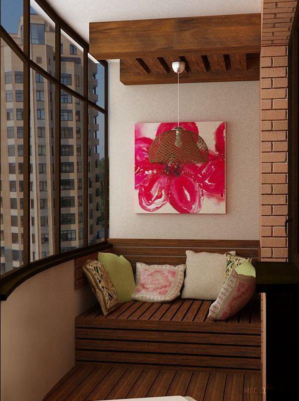 Диван на балкон коллекция изображений.