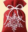 """Мешочек для саше  """"Снежинка """" (набор для вышивания).  Техника вышивания: счетный крест Размер: 12 х 8 см Тип ткани..."""