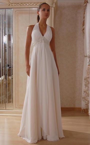 длиные платья в полоску
