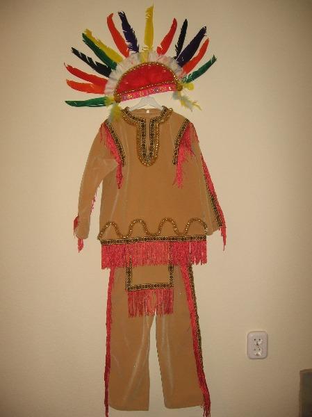 Новогодние костюмы индейцев своими руками
