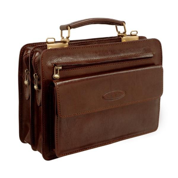 Пошив кожаных портфелей и кейсов на заказ.