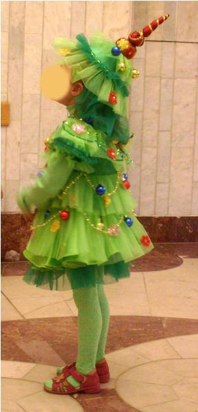 Как сделать новогодний костюм елочки фото 81
