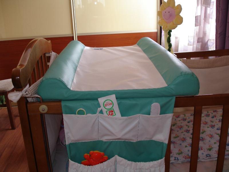 Пеленальная доска на кроватку своими руками мастер класс 2
