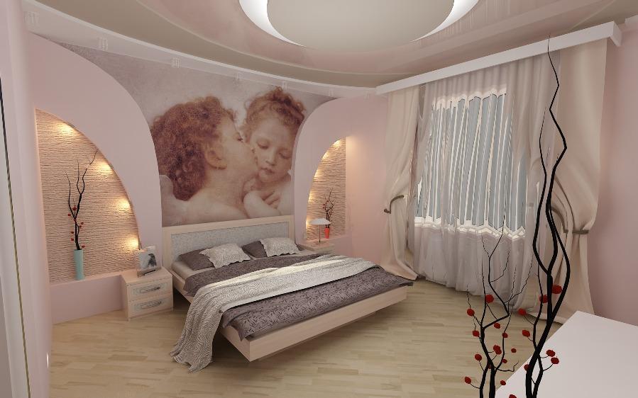 Спальня своими руками недорого фото