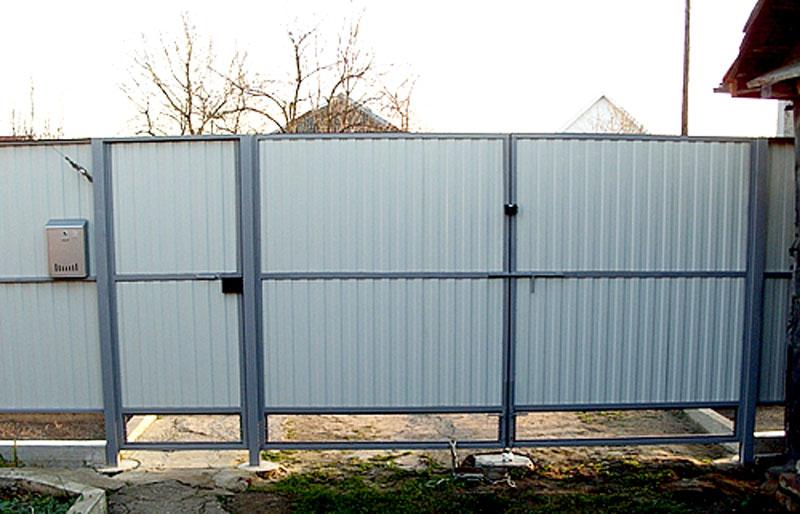 Забор своими руками - Самодельные